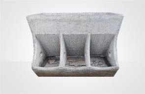 水泥三孔食槽