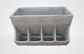 水泥四孔食槽